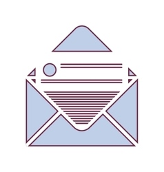 Mail envelope ocon vector