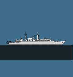 Type 22 batch ii broadsword-class frigate vector