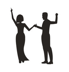 couple dancing at party on vector image vector image