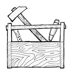 toolbox vector image vector image