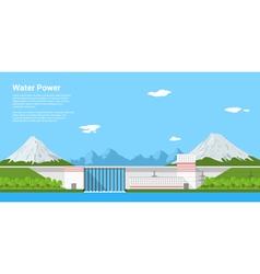 water power vector image vector image