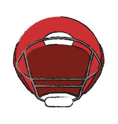 American football icon image vector