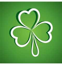 happy Patrick day vector image
