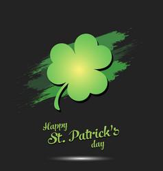 happy st patricks day vector image