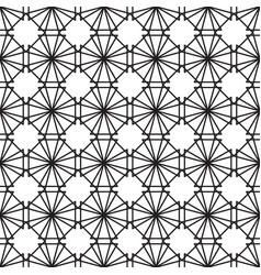 lotus leaf geometric pattern seamless vector image