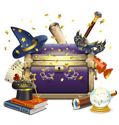 Magic Chest vector image