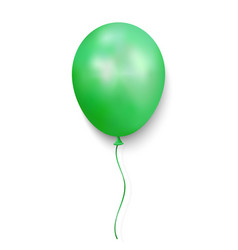 realistic glossy balloon vector image
