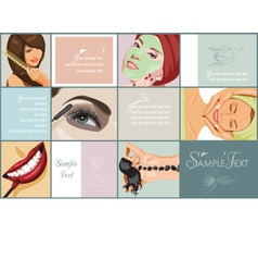 spa and beauty vector image
