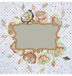 Vintage frame for retro banners EPS 8 vector