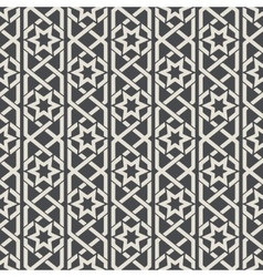 Seamless abstract ornamental pattern in Arabic vector image