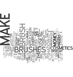 The benefits of brushes text background word vector