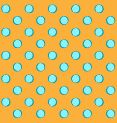 polka dots geometric seamless pattern 502 vector image