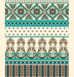 seamless ornamental pattern ornamental vector image