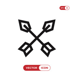 arrows icon vector image