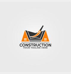 Construction logo template logos for business vector