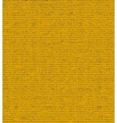 Dark yellow grunge background vector image