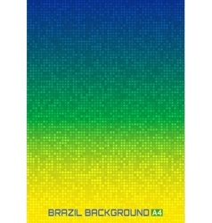 Digital background using Brazil flag colors vector