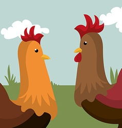 Farm nature and lifestyle vector