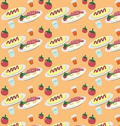 food2 vector image