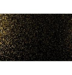 Gold glitter texture vector image