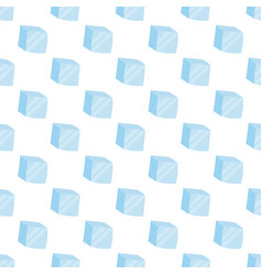 ice cubes cold transparent frozen block stock vector image