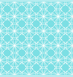 Lotus leaf light green geometric pattern seamless vector