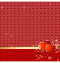love retro wallpaper vector image