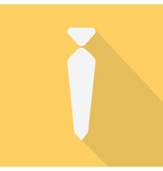 necktie flat design vector image