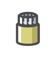 reinforced pipe pile foundation icon vector image