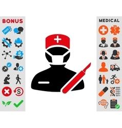 Surgeon Icon vector