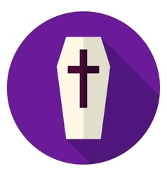Coffin Circle Icon vector image