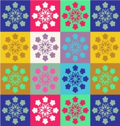 cheerful pattern Spring patterns vector image vector image