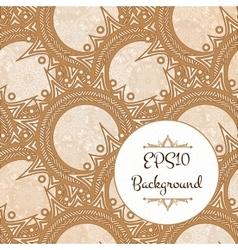 Elegant Henna Pattern vector image