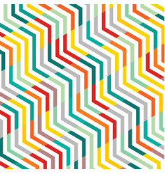 abstract of line pattern zig zag geometric vector image