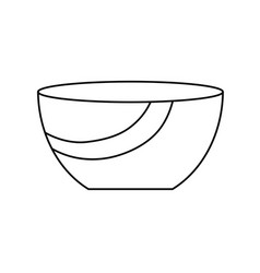 bowl icon image vector image
