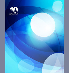 glossy glass shiny bubble abstract background vector image