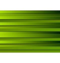 Green stripes design vector image