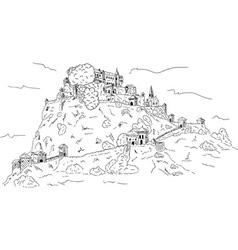 Hochosterwitz Castle vector