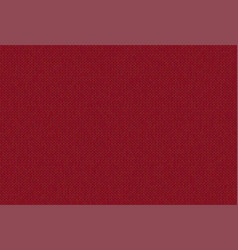 knitted burgundy background vector image