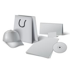 Corporate design template vector