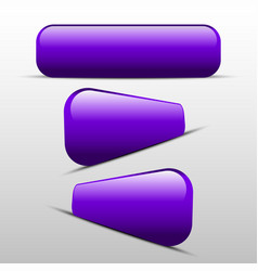 button purple for web vector image