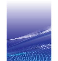 Blue stylish background vector image vector image