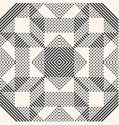 abstract graphic black geometric lines pattern vector image