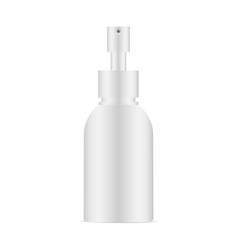 cosmetic bottle isolated vector image