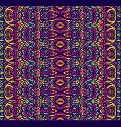 ethnic tribal festive pattern for fabric vector image