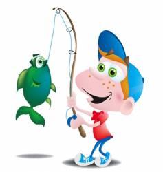 Fisherboy vector