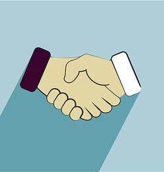Handshake icons vector