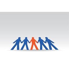 Human figures vector