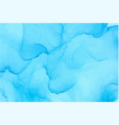 light blue watercolor texture background vector image