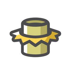 Pipe welding symbol icon cartoon vector